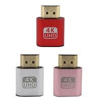 HDMI DDC EDID Dummy Plug Headless Ghost Display Emulator MonitorJ GT