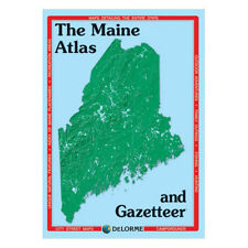 Delorme Maine Topographical Road Atlas & Gazetteer