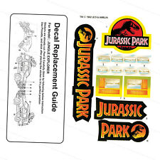 KENNER VINTAGE JURASSIC PARK JUNGLE EXPLORER - REPLACEMENT STICKERS