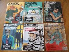 REVUE BD LOT  A SUIVRE à 180 181 182 183 184 185 1993 MAGAZINE TARDI BOUCQ PRATT