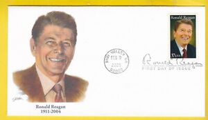 RONALD REAGAN #3897 US FIRST DAY COVER 2005 FLEETWOOD CACHET FDC