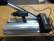 Traco Super Sealer Shrink Wrap 18in Ss 18ds Very Good Conditionwith Heat Gun