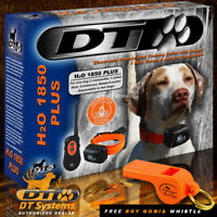 DT Systems H2O 1850 PLUS Remote Dog Trainer Beeper - FREE ROY GONIA WHISTLE