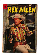"REX ALLEN #13  [1954 GD]  PHOTO COVER!  ""THE PROVISION WAGON"""