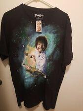 Bob Ross Artist Galaxy T Shirt Size L