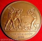 MED3044 - MEDAILLE REVOLUTION NUIT DU 9 AOUT 1789 par BOTHO - FRENCH MEDAL