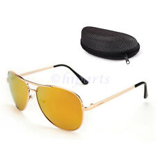Lotfancy Polarized Aviator Sunglasses for Men With Case 61mm Lens Metal Frame