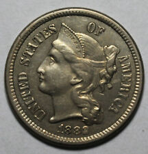 1882 3 Cent Nickel DG1