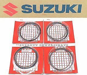 Fits Suzuki Hayabusa New genuine Replacement piston Ring. set of 4.(12140-24F10)