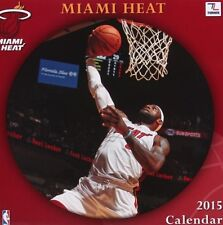 Sealed Collectible Turner Perfect Timing 2015 MIAMI HEAT Wall Calendar 12X12