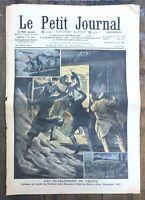 Le Petit Journal N° 890 du 8/12/1907 L'Attaque du rapide de Toulouse