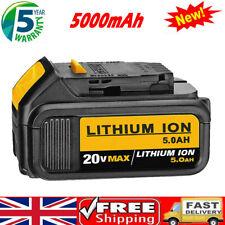 FOR DEWALT DCB184 18V 5Ah Li-Ion XR Slide Battery DCB200 DCB180 DCB182 DCC785