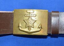 Soviet Russian NAVY Marine Sailor Girdle Brown BELT #3