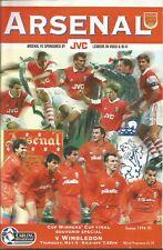 Football Programme - Arsenal v Wimbledon - Premiership - 4/5/1995