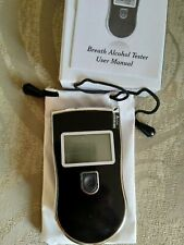breathalyzer alcohol tester, display alcotester At818,new, but has tiny scratch