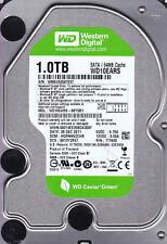 Western Digital WD10EARS-00Y5B1 dcm: HGRNNV2CHB s/n: WMAV... 1TB SATA A9-15