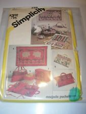 CRAFTS UNCUT SIMPLICITY 5311 Sewing Pattern HOME DECOR ACCESSORIES SEWING ART