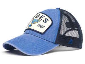 """St. Louis Blues """"Vintage"""" NHL trucker hat cap"""