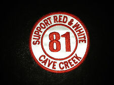 Hells Angels CaveCreek 81 Support Patch