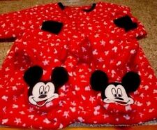 Mickey Mouse Footed Pajamas 3D Silhouette Gloves  1 PC NEW M or XL LAST ONES