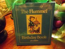 The Hummel Birthday Book 1983 ars edition Japanese binded pages