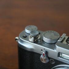 Grey Concave Small Soft Release Button for Leica MP M8 M9 Fuji X100 Nikon Canon