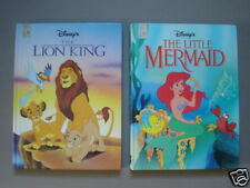 The Lion King/ The Little Mermaid 1st Printings