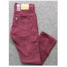 Levis 511 Slim Stretch Jeans Herren Men Trouser Hose Five Pocket Rot
