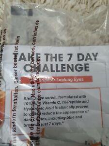 7 Day Kiehl's Powerful-Strength Dark Circle Reducing Vitamin C Eye Serum Foils