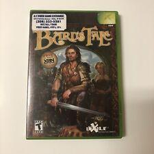 Bard's Tale (Microsoft Xbox, 2004) With Manual