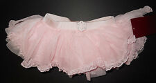NWT Mirella Ballet Dance Pink Rhinestone Buckle Tutu Skirt  Sm Child 4/6 MS53C