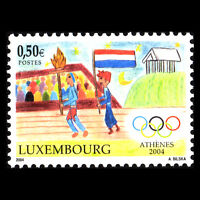Luxembourg 2004 - Summer Olympic Games Athens, Greece - Sc 1140 MNH