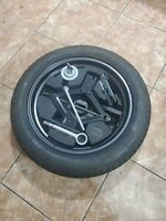 """09-13 SUBARU FORESTER 17"""" COMPACT SPARE TIRE DONUT W/ JACK & TOOLS T155/70D17"""