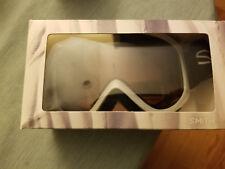 NEW Smith Ridgeline Ski Snowboard Goggles Silver Frames RC36 Lens
