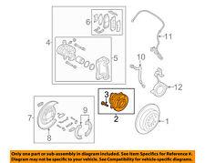 KIA OEM 11-15 Sorento Rear Suspension-Hub 527502B100