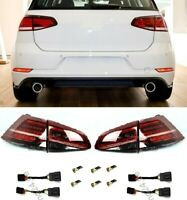 Für VW Golf VII 7 12-18 GTI GTD Facelift Look BLINKER DYNAMISCH LED Rückleuchten