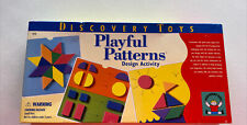 Discovery Toys Playful Patterns Design Activity Play Learning Game. 1996 Read