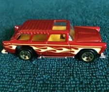 HOT WHEELS ~ MUSCLE MANIA '55 CHEVY NOMAD ~ NEW  LOOSE JUST OUT OF 5 PACK
