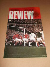 FOOTBALL LEAGUE REVIEW No 505 ( 1970-1971 )  CENTRE PAGE CAMBRIDGE UNITED