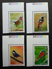 Taiwan Birds 2007 Fauna (stamp color code) MNH