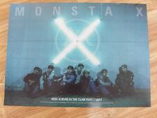Monsta X - The Clan 2.5 Part.1 Lost (Lost Ver.) [Original Poster] *New* K-Pop