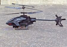 Double Horse R/C Remote Hard Plastic Black Helicopter Rechargeable Size: 34x15cm