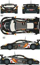 1/24 Decal Mclaren MP4/12c GT3 #5 24h of Spa 2013 for Fujimi