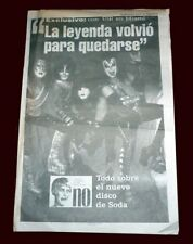 KISS in ARGENTINA 1996 - Pagina12 Supplement # 239