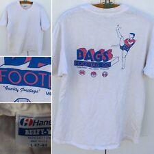 Vintage BAGS FOOTBAG CO Quality Footbags Mesa Arizona T-Shirt L USA 80s 90s