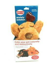 SmartPetLove Snuggle Puppy Behavioral Aid Toy, Biscuit  Assorted Colors
