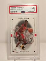 🐐1998 SP Authentic Michael Jordan #1 PSA 9 MINT👀🔥(POP 92)🔥