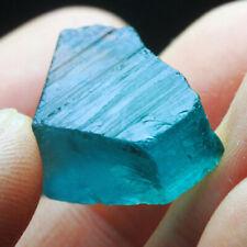 VVS 23.3Ct 100% Natural  Blue Green Paraiba Tourmaline Rough Specimen YBPT108