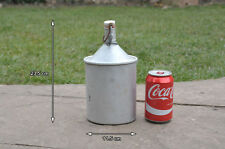 Vintage aluminium water carrier bottle flask - FREE POSTAGE