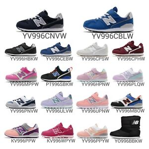 New Balance YV996 W Wide Preschool Kids Athletic Shoes Sneakers Pick 1